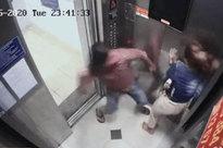Người đàn ông khai nguyên nhân đánh bạn gái trong thang máy