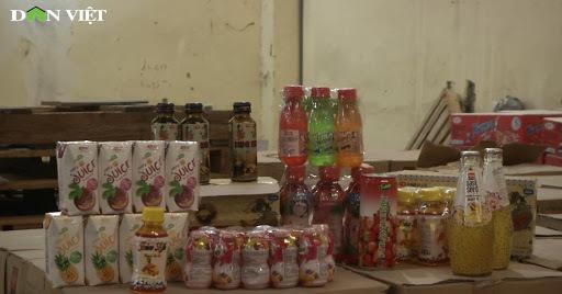 Hàng nghìn chai nước ngọt, nước giải khát hết hạn được phù phép thành sản phẩm mới