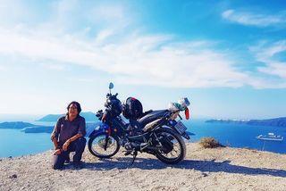 Trần Đặng Đăng Khoa: 1.000 ngày vòng quanh thế giới trên con xe máy già