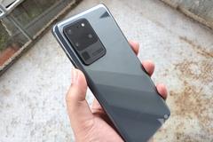 Mở hộp smartphone Galaxy S20 Ultra: Camera siêu zoom 100X
