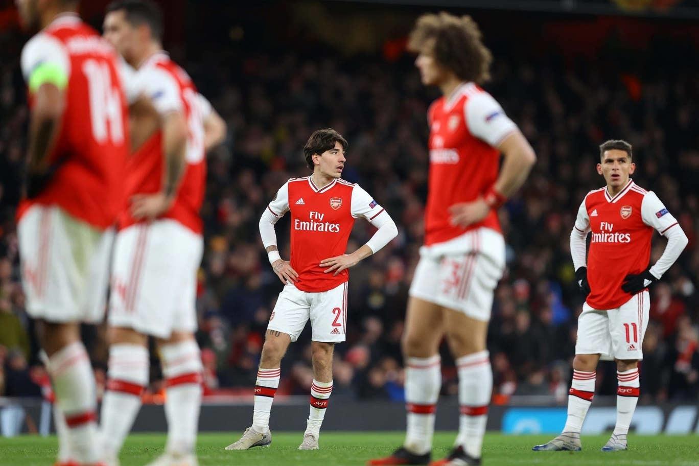 Arsenal bị hất cẳng khỏi Europa League sau 120 phút điên rồ