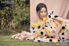 Lưu Diệc Phi gây thất vọng với loạt ảnh kém sắc trên tạp chí Mỹ