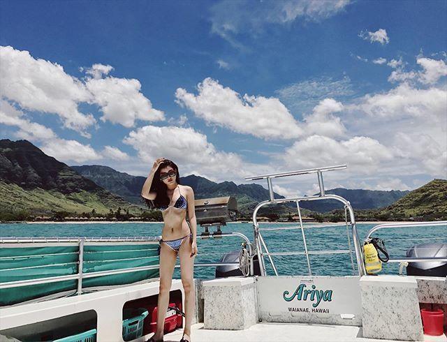 Loạt ảnh bikini của Huyền My - á hậu hiếm khi mặc hở