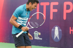 Nam wins on his birthday at Egyptian tennis event