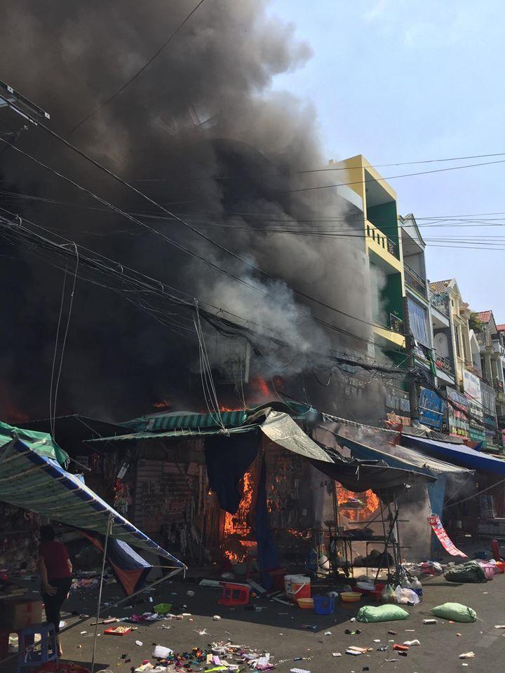 Cháy Lớn,Hỏa Hoạn,Sài Gòn