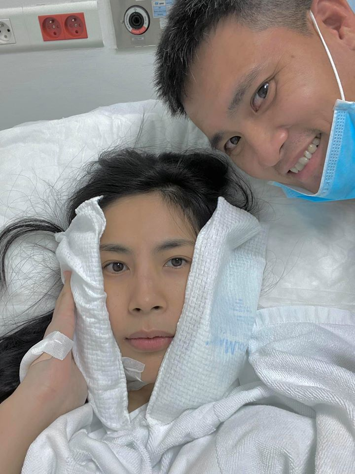 Giấu chồng nhập viện, Thuỷ Tiên bị Công Vinh 'bóc mẽ'