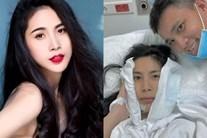 Thủy Tiên giấu chồng nhập viện, Công Vinh thở than: 'Lấy phải con vợ như này đau đầu lắm'