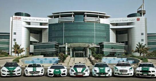 Cảnh sát Dubai sắm siêu SUV bọc thép có khả năng nhận dạng tội phạm