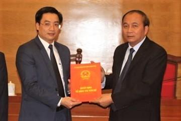 Ông Nguyễn Văn Huyến làm giám đốc Sở Giáo dục Vĩnh Phúc