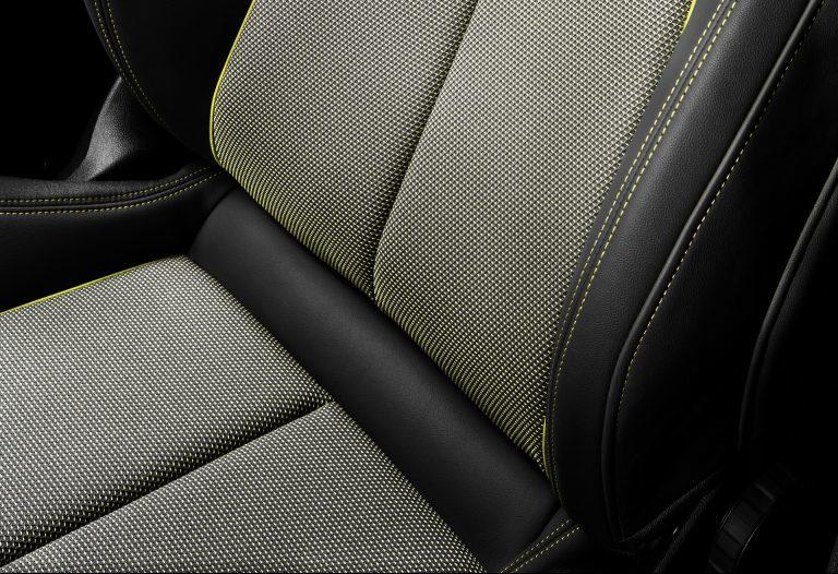 Audi A3 2020 sở hữu bọc ghế được làm từ nhựa tái chế
