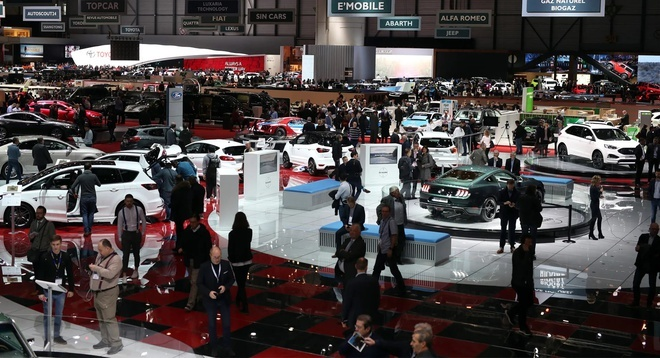 Hủy triển lãm xe Geneva Motor Show 2020 vì virus corona
