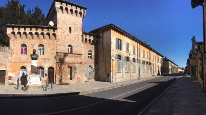 Coronavirus: Quarantined inside Italy's red zone