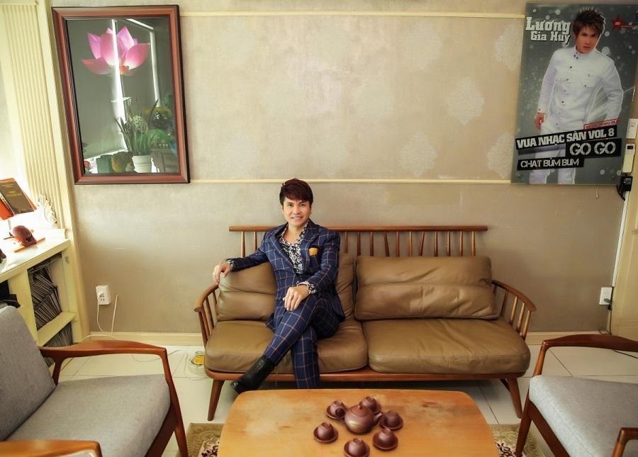 Căn hộ 5 tỷ rộng 150m2 của 'vua nhạc sàn' Lương Gia Huy