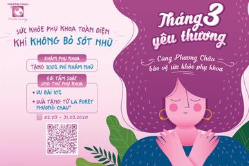 Chương trình chăm sóc sức khỏe dành riêng phái đẹp ở BVQT Phương Châu
