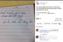 Vợ chồng cãi nhau không nói chuyện, chồng để lại mảnh giấy nhờ vả thì vợ có câu trả lời khiến tất cả choáng váng