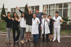 Đi bơi sau 1 tuần phẫu thuật ung thư đại trực tràng ở Vinmec