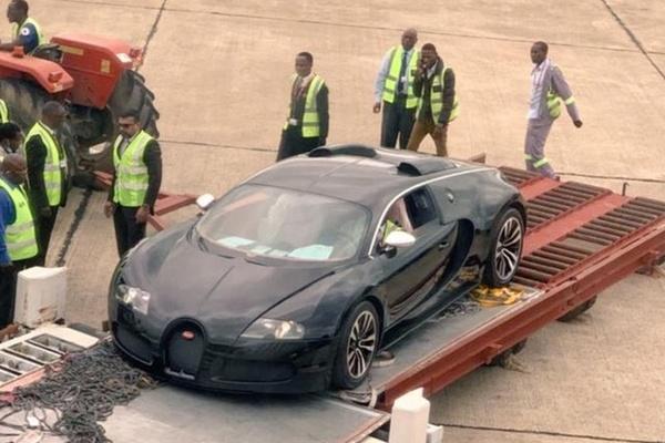 Chiếc Bugatti Veyron có thể bị nghiền nát vì liên quan tới rửa tiền