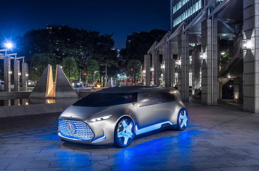 Ô tô thời thượng năm 2050: Siêu thông minh và nhỏ gọn