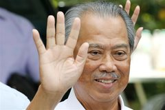 Malaysia's Mahathir out as former interior minister is named PM