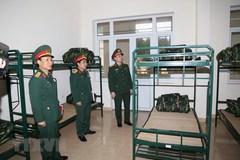 Bộ Tư lệnh thủ đô chuẩn bị khu vực đón tiếp người trở về từ vùng dịch