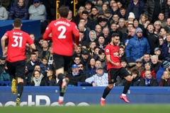 Bruno Fernandes ghi siêu phẩm, MU hòa vất vả Everton
