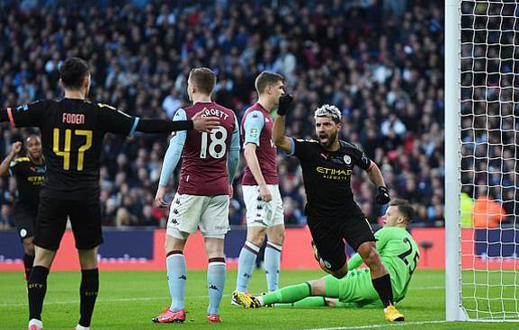 Man City 2-1 Aston Villa: Bàn thắng hy vọng (H1)