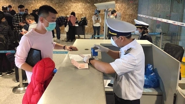 Health declaration required for passengers from Iran and Italy