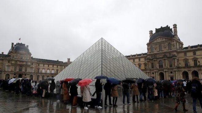 Coronavirus,Louvre,covid,paris,world news