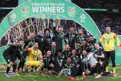 Hạ Aston Villa, Man City vô địch cúp liên đoàn Anh