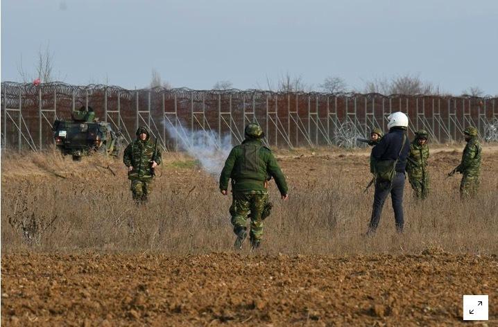 Đụng độ dữ dội ở biên giới Thổ Nhĩ Kỳ và Hy Lạp