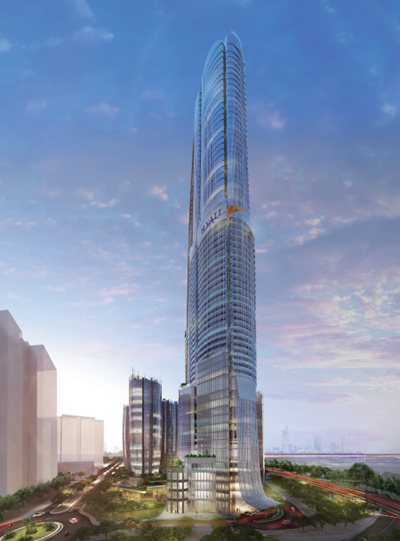 Thêm một công trình siêu cao tầng ở TP.HCM