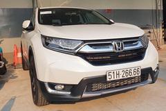 Trúng biển tứ quý 6, chủ Honda CR-V tính lãi 350 triệu