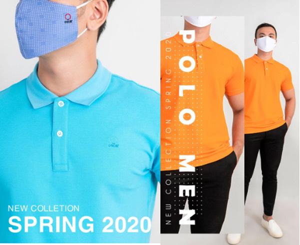 Oscar Fashion ra mắt bộ sưu tập áo polo và sơ mi kết hợp khẩu trang