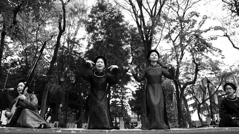 vietnam culture,ca tru,ceremonial singing,google doodle,Vietnam in photos