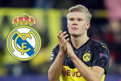 Real Madrid vung 65 triệu bảng đánh cắp Haaland