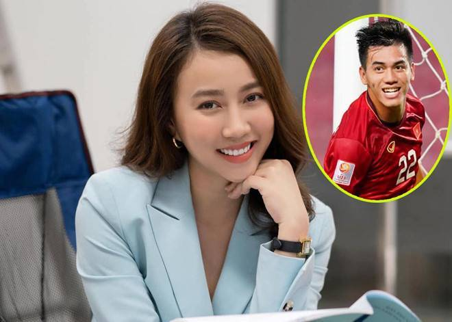 Diễn viên Hồng Loan xác nhận đang hẹn hò cầu thủ Tiến Linh