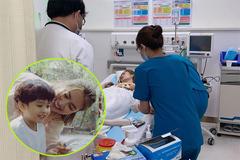 Gia đình hốt hoảng đưa Ngọc Lan nhập viện cấp cứu nửa đêm