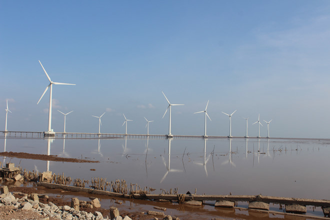 Nhìn điện mặt trời, lo cho điện gió