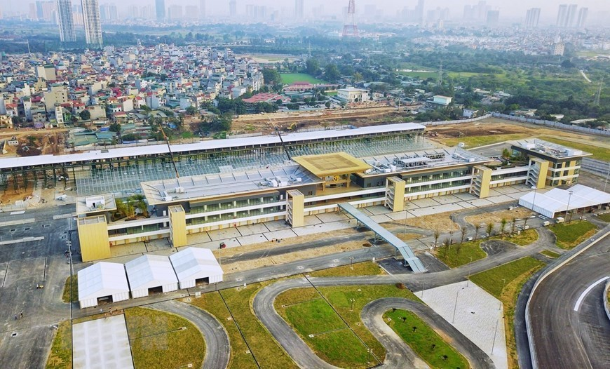 F1 circuit completed for Vietnam Grand Prix