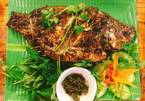 Vietnamese food: grilled fish