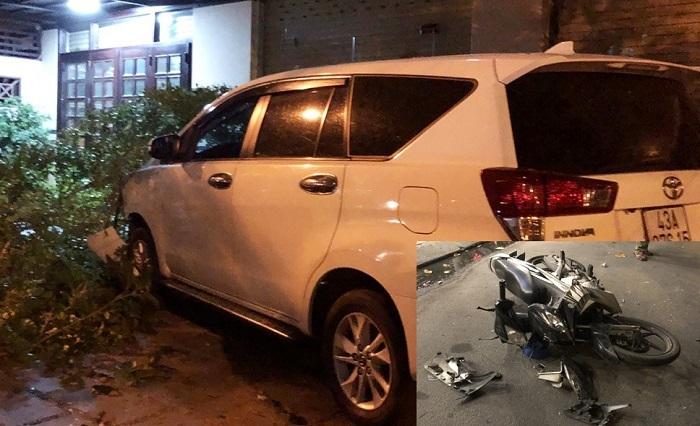 Trốn chốt kiểm tra nồng độ cồn, tài xế gây tai nạn ở Đà Nẵng