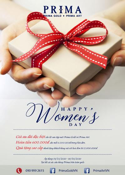 BST Womenday của Prima Art - quà 'độc' dành cho ngày 8/3