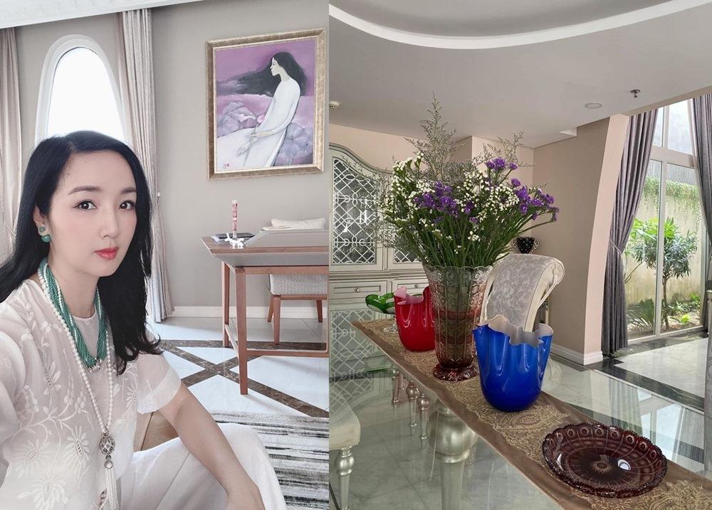 Biệt thự sang trọng xa hoa hiếm có của Hoa hậu Giáng My