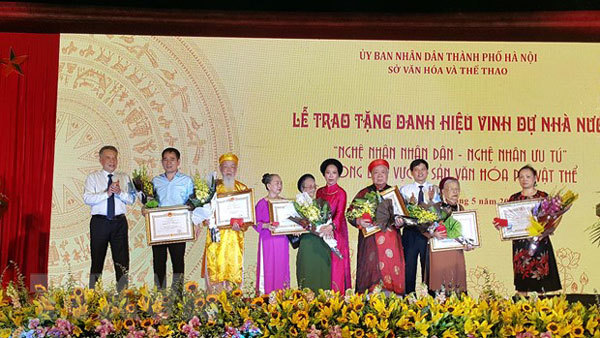 Hanoi's plan to recognise culture champions