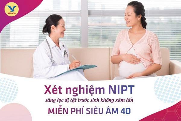 """NIPT - xét nghiệm """"vàng"""" sàng lọc dị tật từ tuần thứ 10 thai kỳ"""