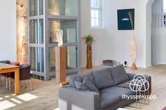 'Nâng tầm' căn hộ với thang máy gia đình Thyssenkrupp Homelift