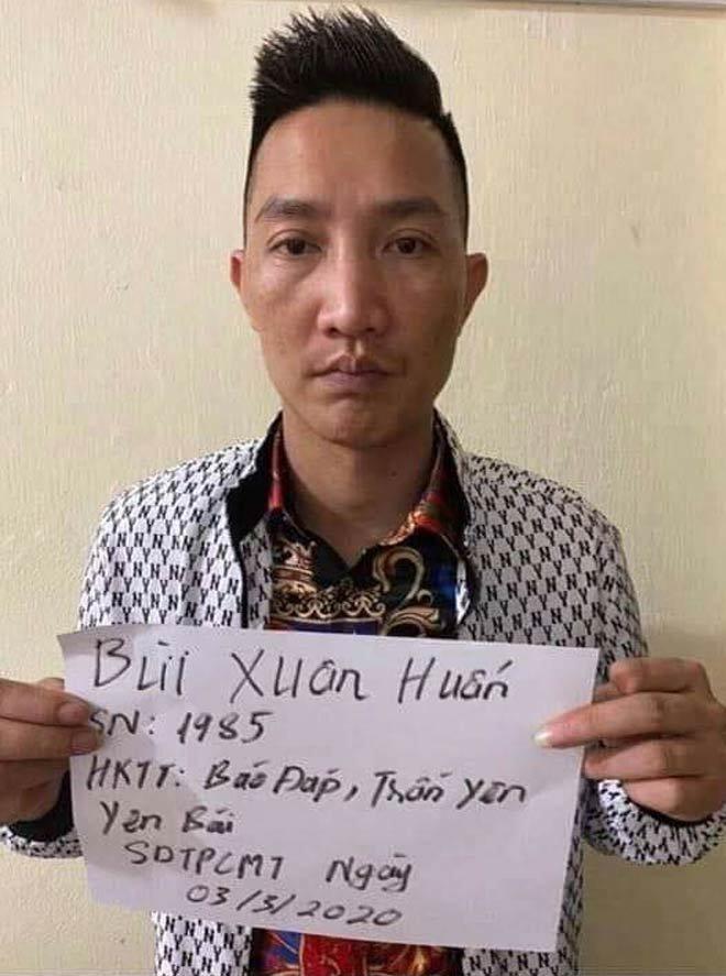 Huấn 'hoa hồng' bị tạm giữ vì sử dụng ma túy ở Lào Cai