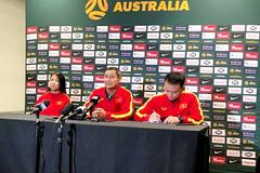 """HLV Mai Đức Chung: """"Việt Nam cần hạn chế bàn thua trước Australia"""""""