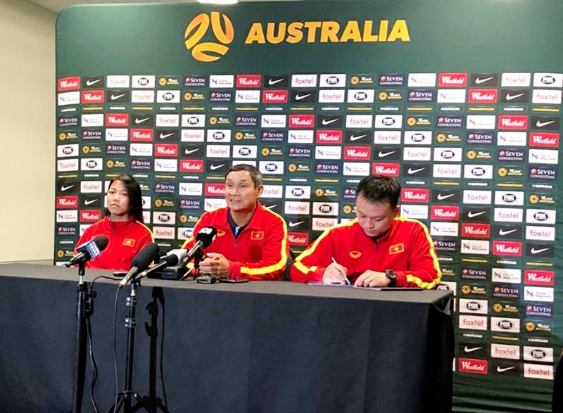 HLV Mai Đức Chung: 'Việt Nam cần hạn chế bàn thua trước Australia'