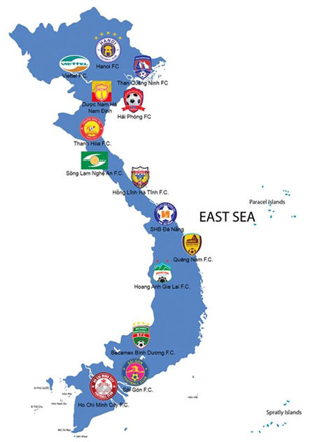 Your guide to every 2020 V.League 1 club